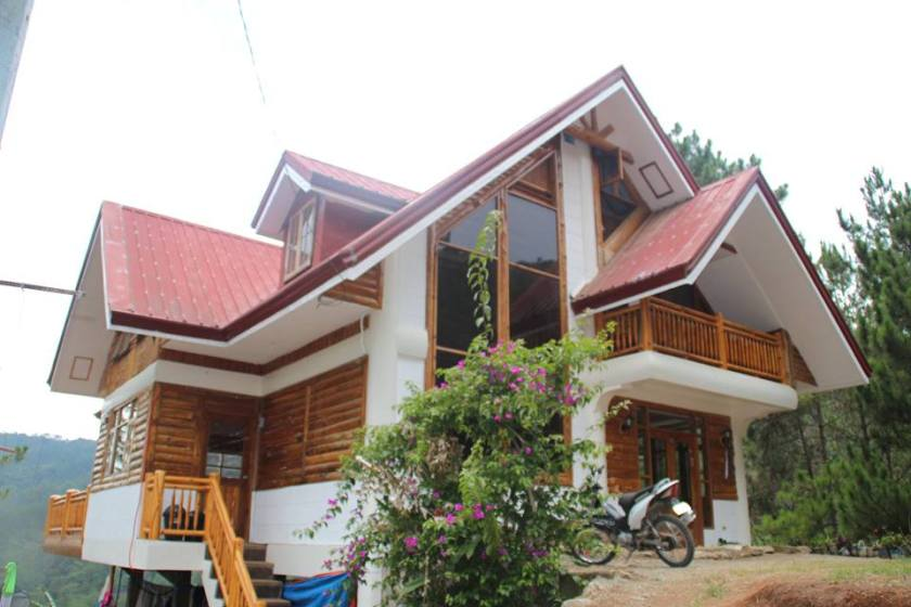 The new Sagada Green Hills transient house